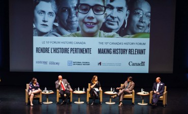 Grove at Canada's History Forum 2017 and History Makers Gala